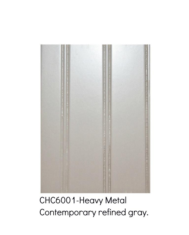 Heavy metal 6001-Contemporary refined gray