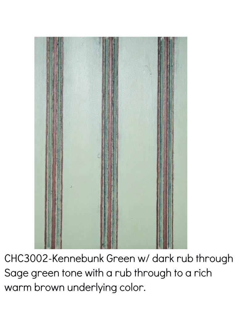 Kennebunk green3002-Sage green tone with a rub through to a rich warm brown underlying color.