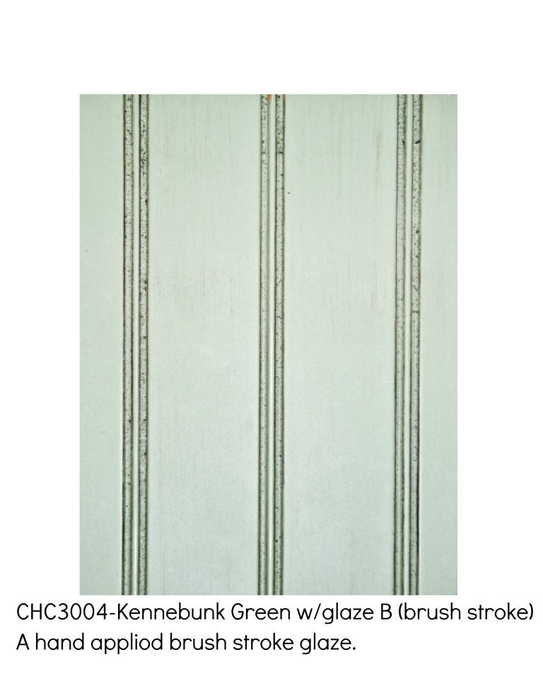 Kennebunk green3004-A hand applied brush stroke glaze