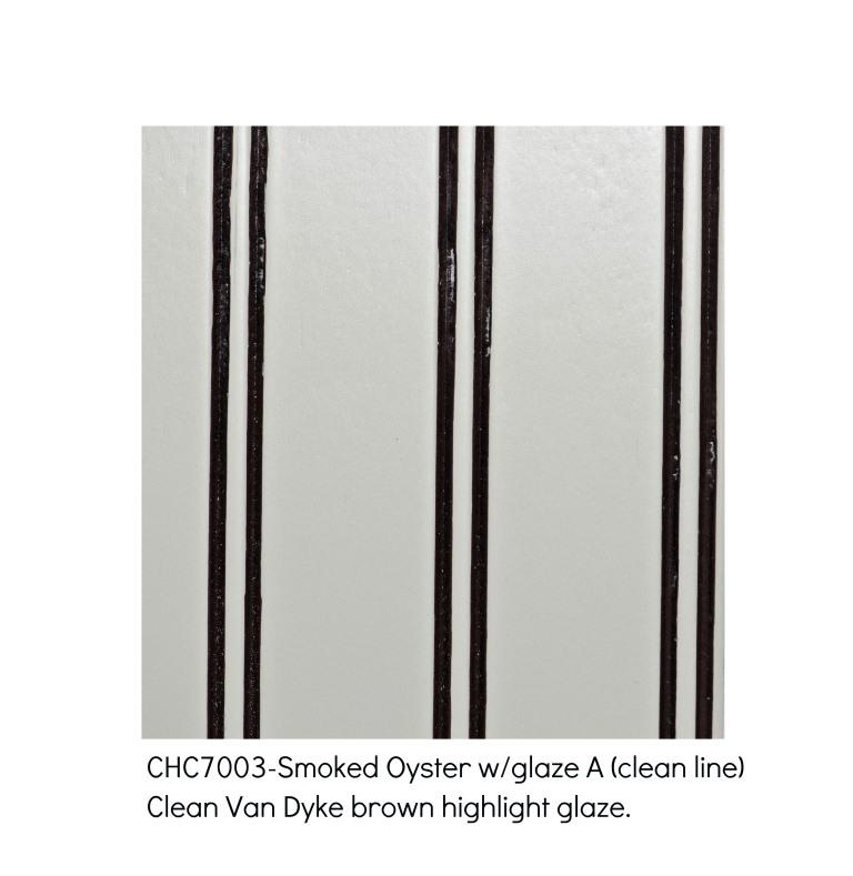 Smoked Oyster 7003-Clean Van Dyke Brown highlight glaze