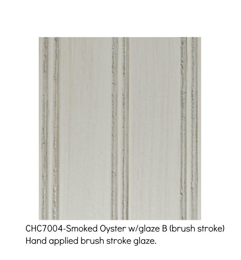 Smoked Oyster 7004-A hand applied brush stroke glaze
