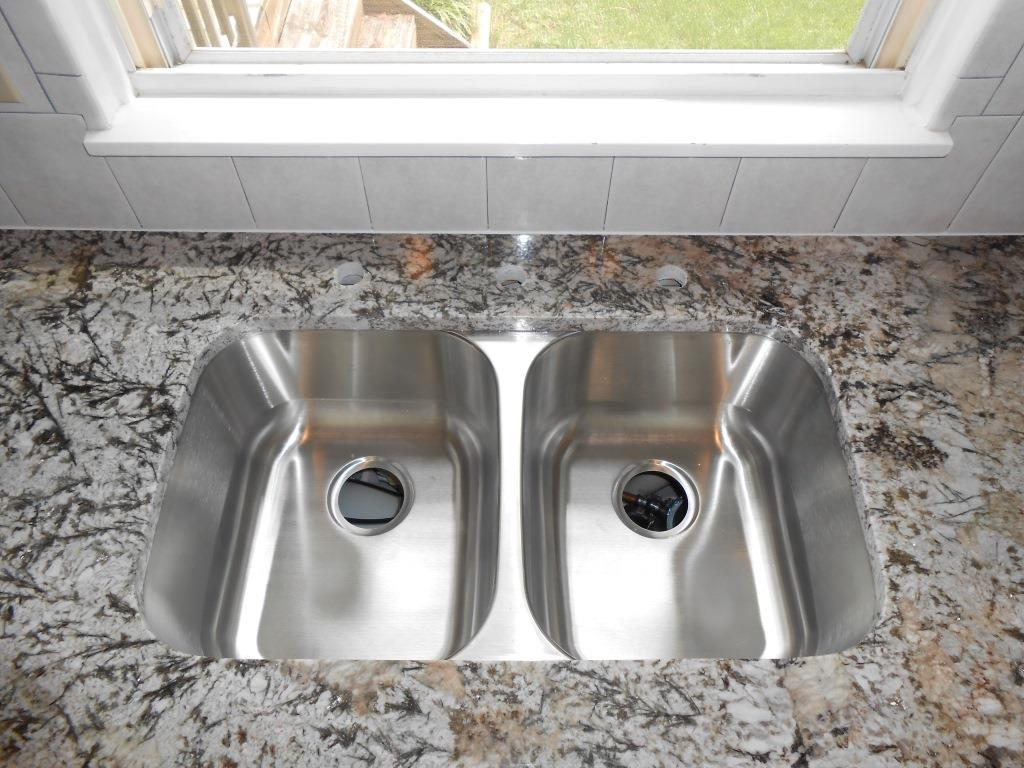 Granite Or Stainless Steel Sink : steel spec 50 50 stainless steel azurite granite 50 50 stainless steel ...