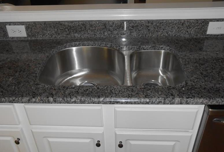 Granite Or Stainless Steel Sink : supreme granite 70 30 stainless steel sink 70 30 stainless steel sink ...