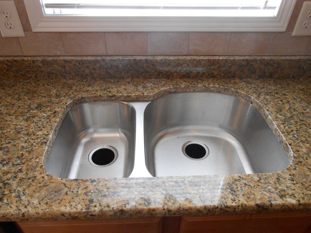 Granite Or Stainless Steel Sink : stainless steel sink crema bordeaux granite 30 70 stainless steel sink ...
