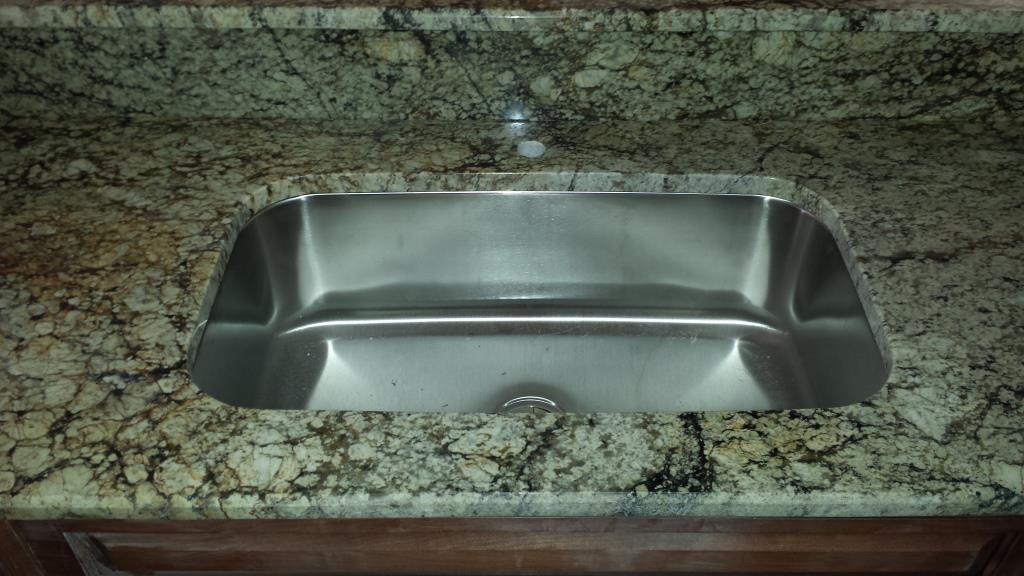 100 Stainless Steel Sink-Taupe Granite