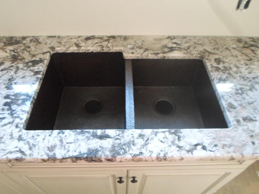 Antico Bianco Granite Kitchen Granite Charlotte Stainless Steel Sink