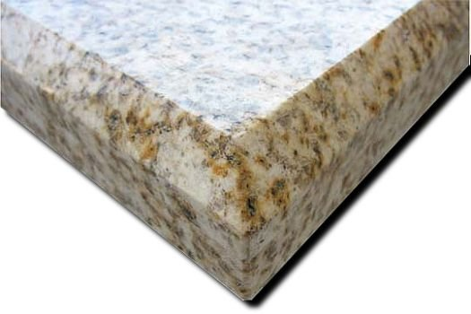 A custom beveled edge gives your countertop the sculpted look of more expensive materials, like stone, at a fraction of the cost. It's a beautiful look on a modest budget, a choice that feels as smart as it looks.