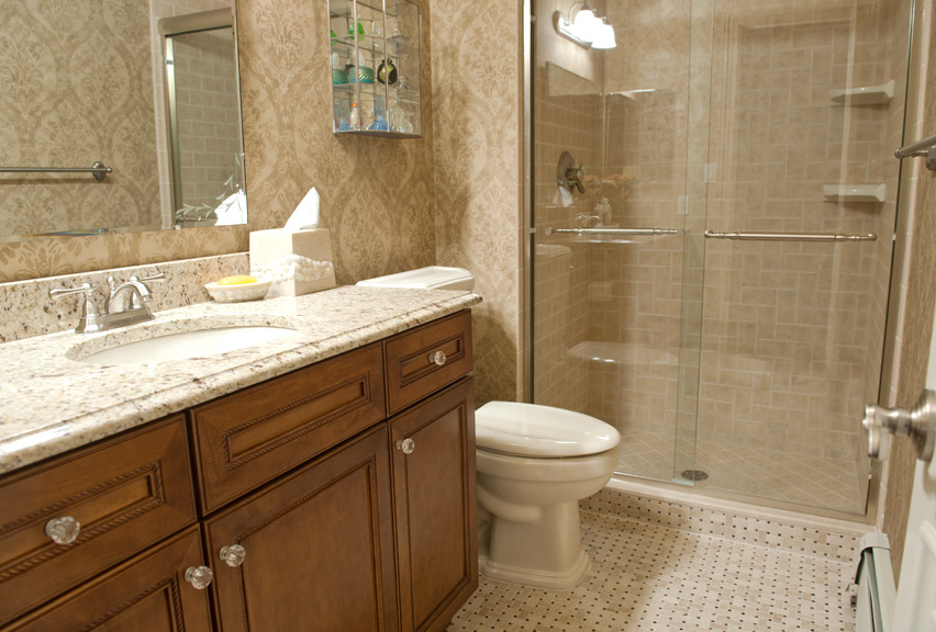 Bathroom remodel for Redo bathroom ideas