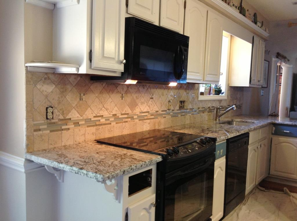 Backsplash For Bianco Antico Granite Ideas Mesmerizing Bianco Antiquo Granite Countertops  Charlotte Nc Inspiration