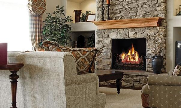 Gas Logs Fireplace Charlotte