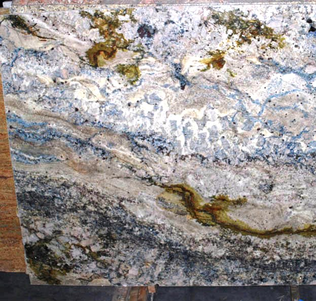 Azurite Granite  slab