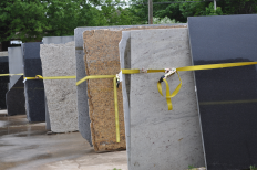 Granite slab selections