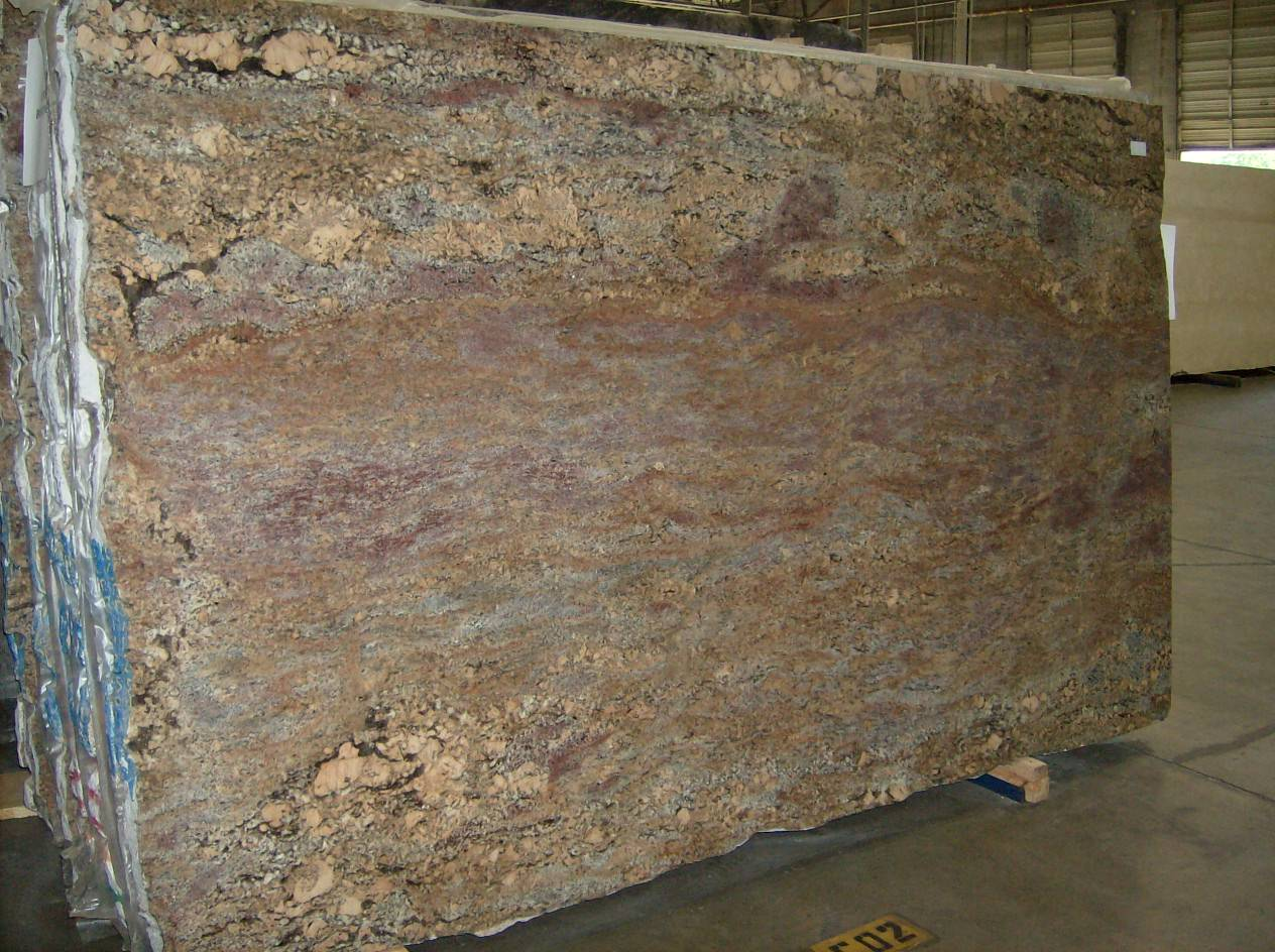 crema bordeaux granite slab ex