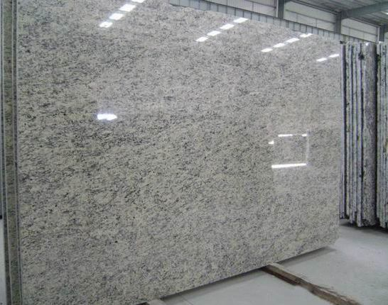 oriental white granite slab