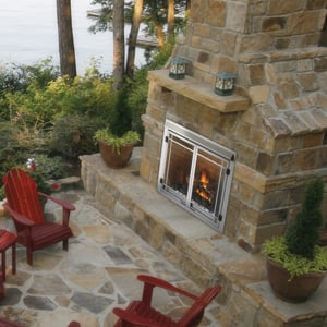outdoor fireplaces napoleon
