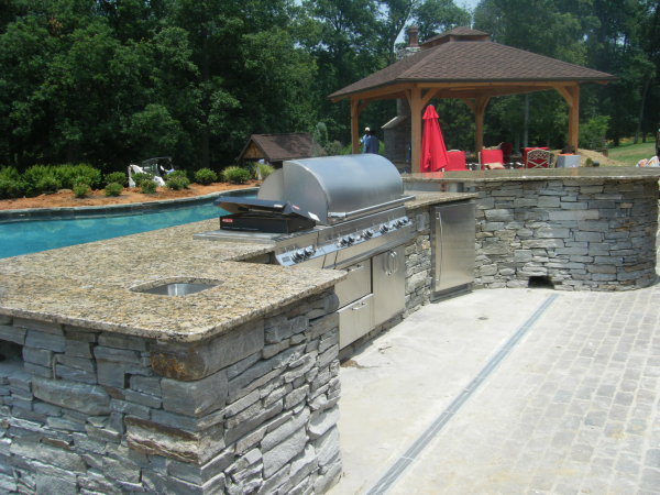 Outdoor Kitchen Charlotte Nc