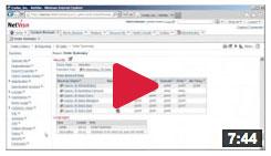 video cognos security