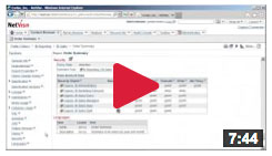 video cognos security