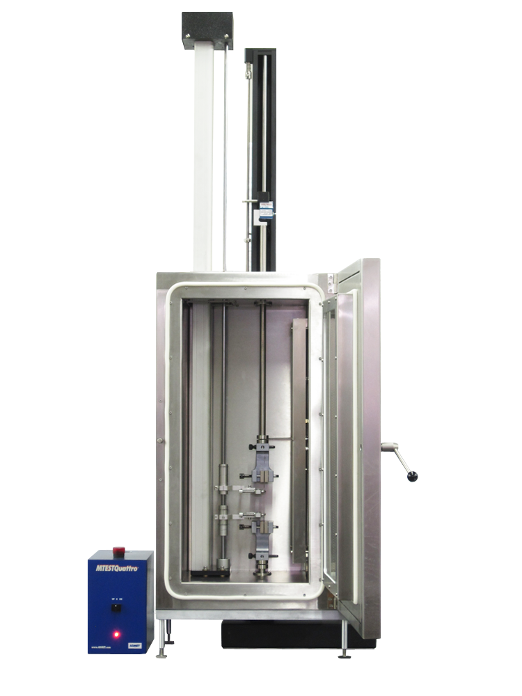 Heating Cooling Chamber Single Column Extensometer long travel