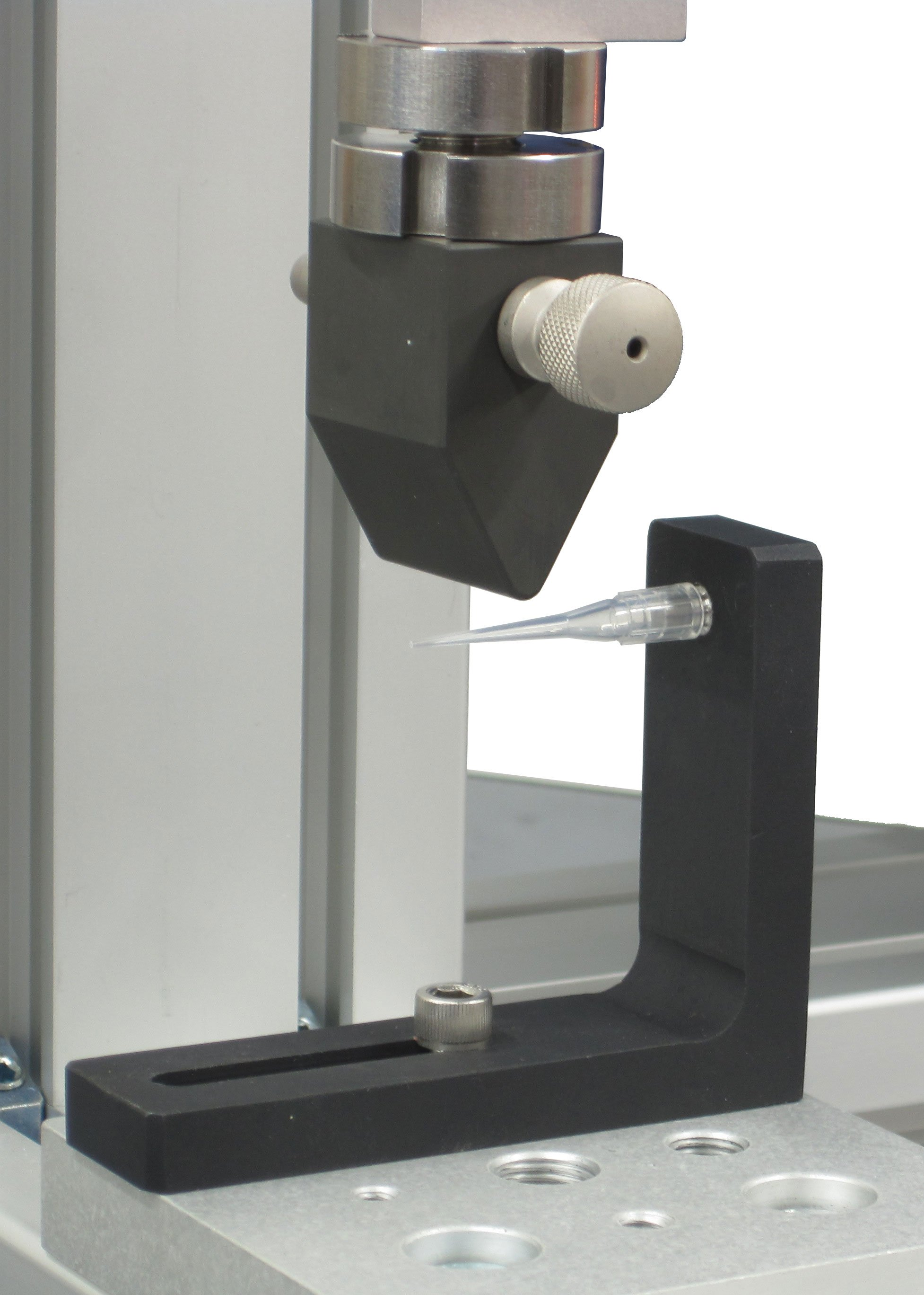 pipette bend test fixture