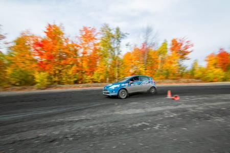 Rally Driver Karen Jankowski: Visits Team O'Neil