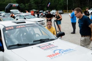 Paraplegic Driver Tackles New England Forest Rally