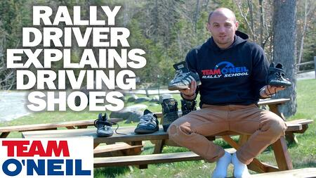 Rally Driver Explains Driving Shoes