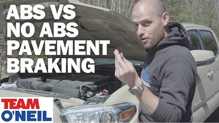 ABS VS No ABS Pavement Braking Test