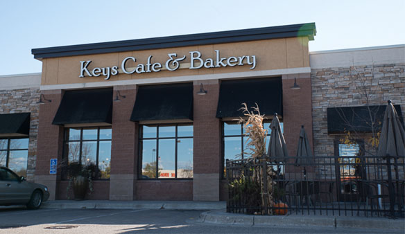 Keys Cafe Forest Lake Exterior