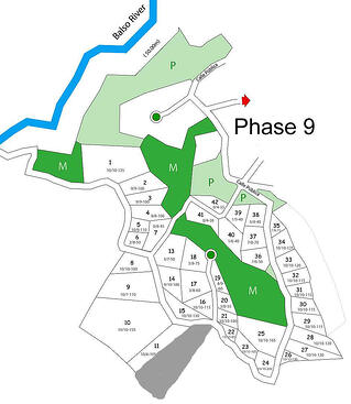 phase map of typical real estate development in Costa Rica