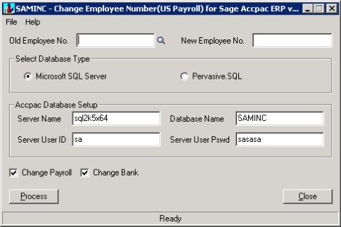 how to change document number in sage