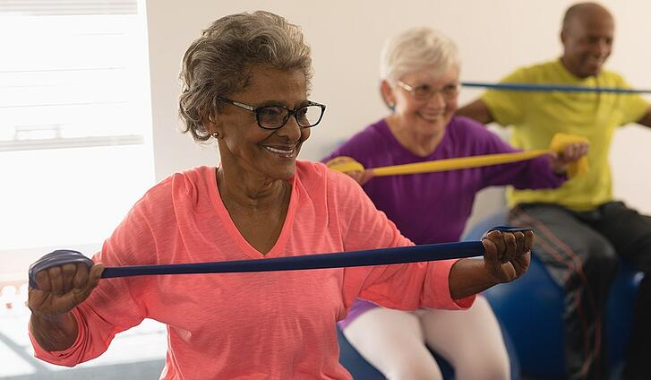 How Group Exercise Helps Adults With Joint Pain