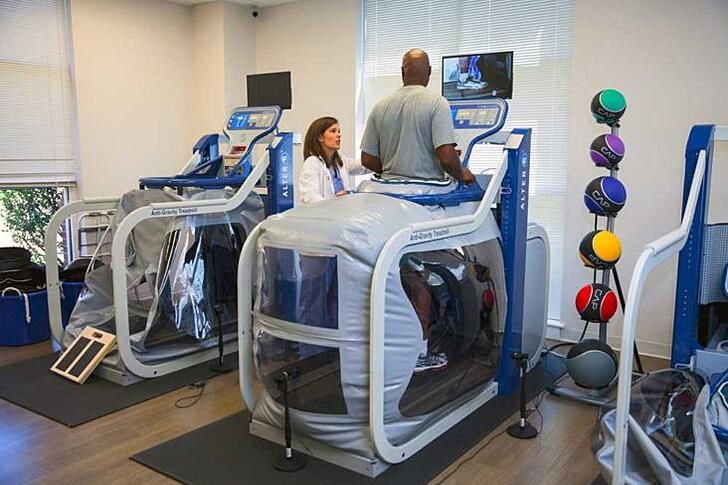 Anti-Gravity Rehabilitation Promotes Progress and Hope