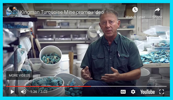Video promoting Kingman Turquoise and Mine