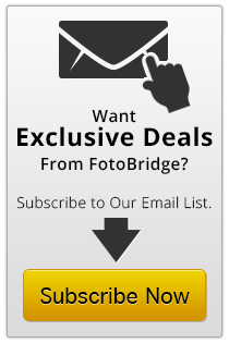 Specials and Deals from FotoBridge