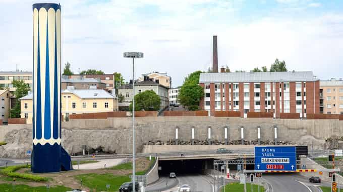 Tampereen Rantatunnelin maanalain rakentaminen oli A-Insinöörien vastuulla suunnittelun ja alihankintojen osalta.
