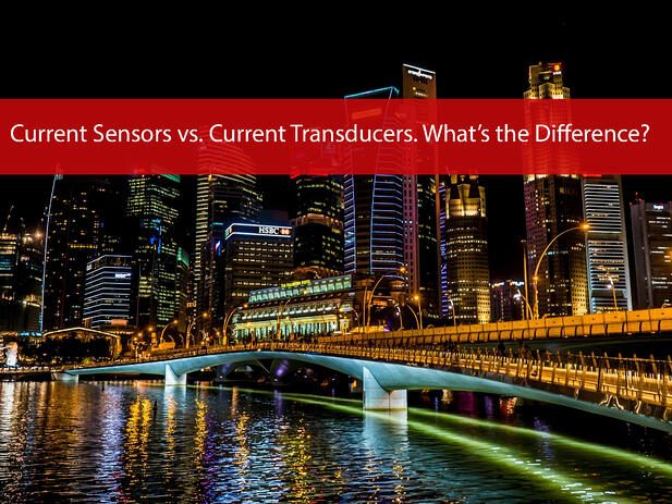 What is a Current Sensor and Current Transducer?
