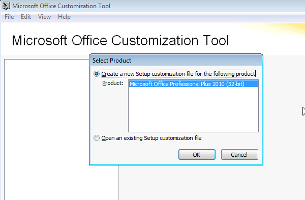 Remotely install office 2010 part 1 office customization tool - Office customization tool ...