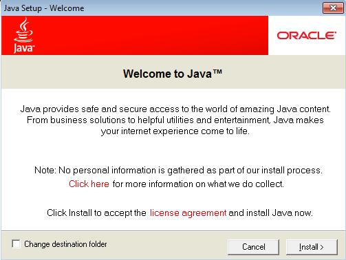 PDQ11 New Java Dialog