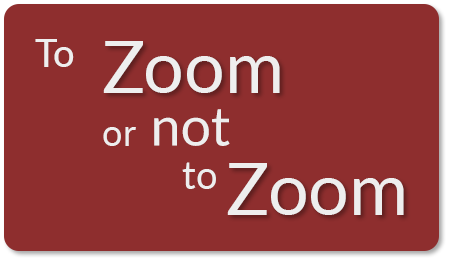 To Zoom or not to Zoom - one company considers cybersecurity