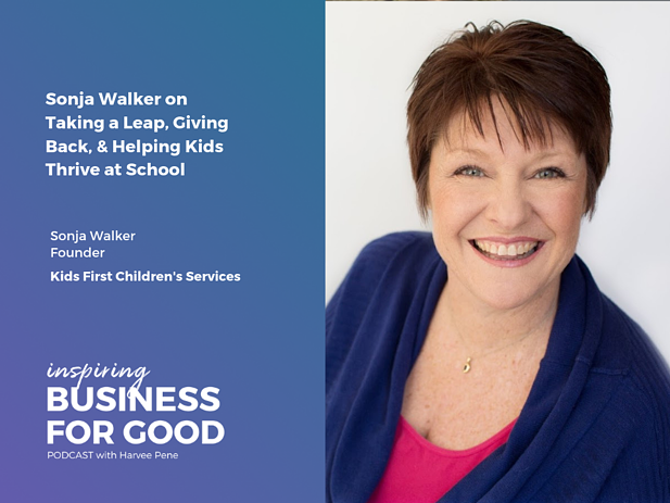 Sonja Walker on Taking a Leap, Giving Back, & Helping Kids Thrive at School
