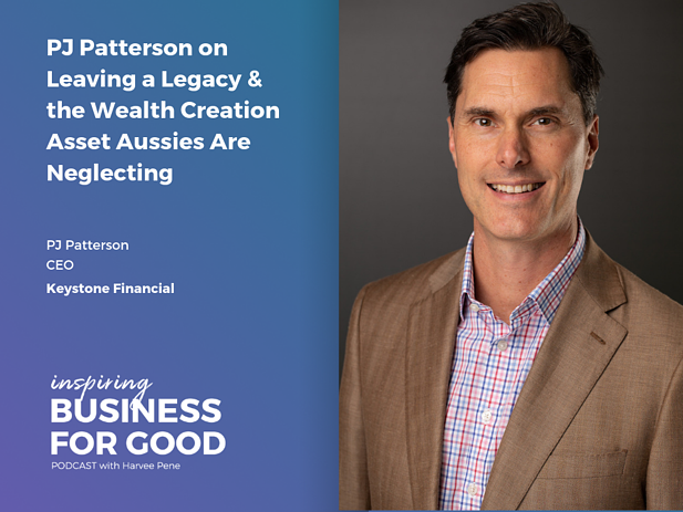 PJ Patterson on Leaving a Legacy & The Wealth Creation Asset Aussies Are Neglecting