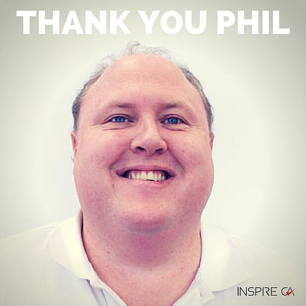 THANK YOU PHIL - A year of NEW beginnings!