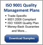 iso 9001 quality management plan wh