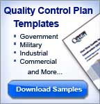 free quality control manual template