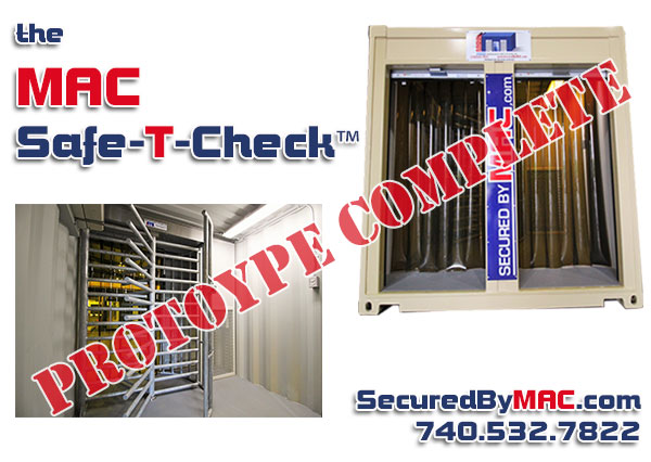 MSSI, MAC Safe-T-Check, thermal screening, turnstiles, access control in a container