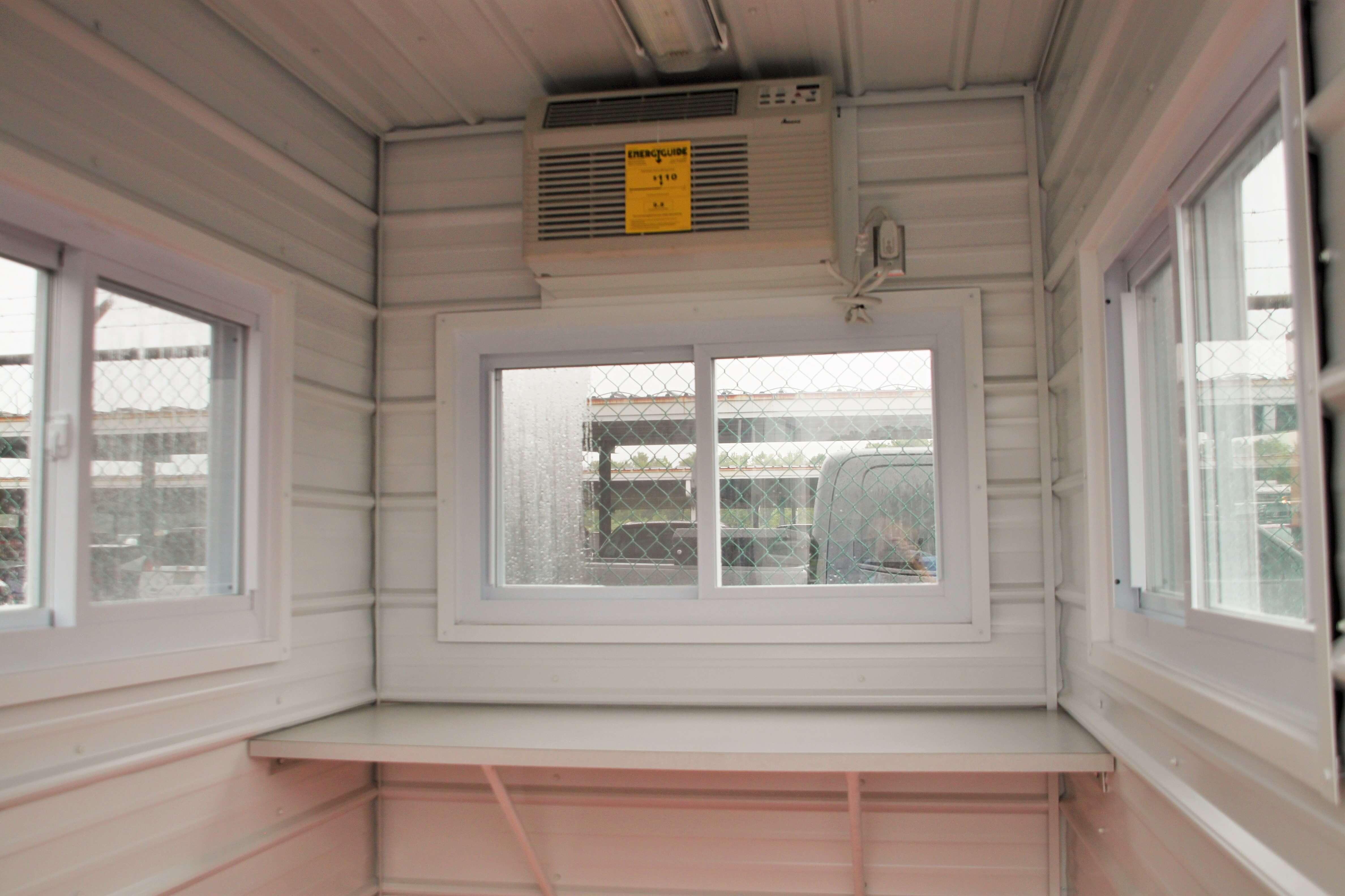 6 x 8 Guard booth, modular guard booth, modular guard house