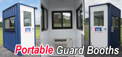 Portable Guard Booth, Mobile guard booth, modular guard booth, guad booth