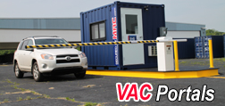 vehicle access control, portable vehicle access control, modular vehicle access control, portable vehicle barrier arms