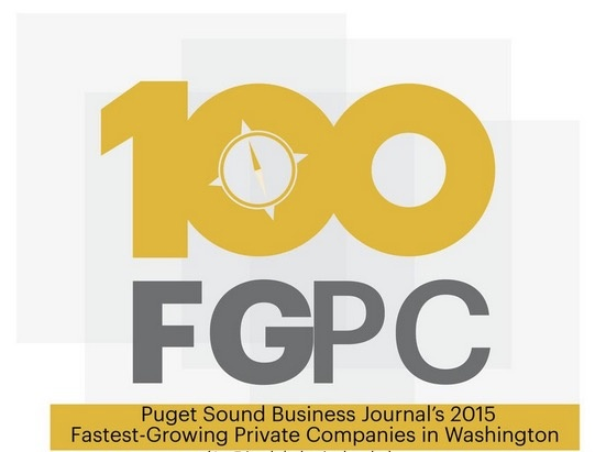 Puget Sound Business Journal Fastest Growing Companies List 2015